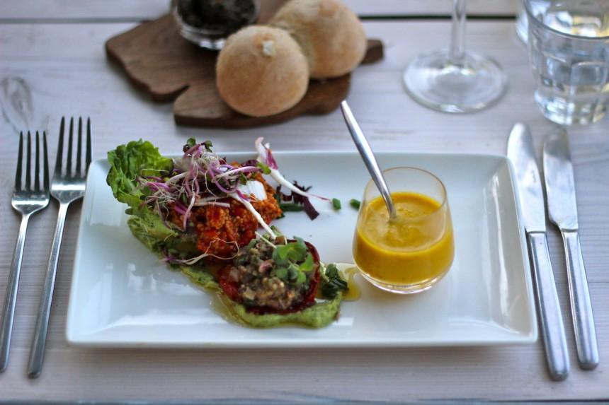 vegetarisch restaurant Herberg Het Volle Leven Appelscha
