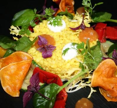 Veggie bulghur salade