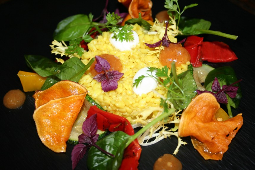 vegetarische bulgur bulghur salade recept vega recept veggie bulgur