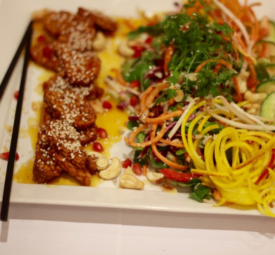 Golden Temple, vegetarisch restaurant