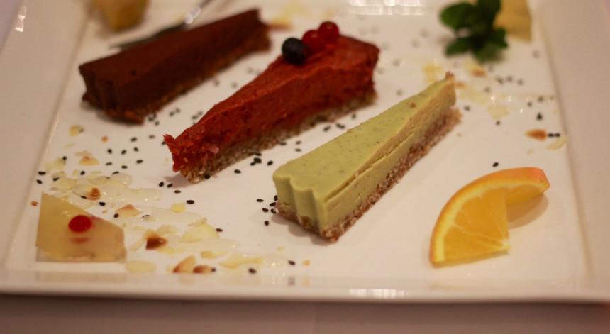 Restaurant Golden Temple Amsterdam vegan dessert