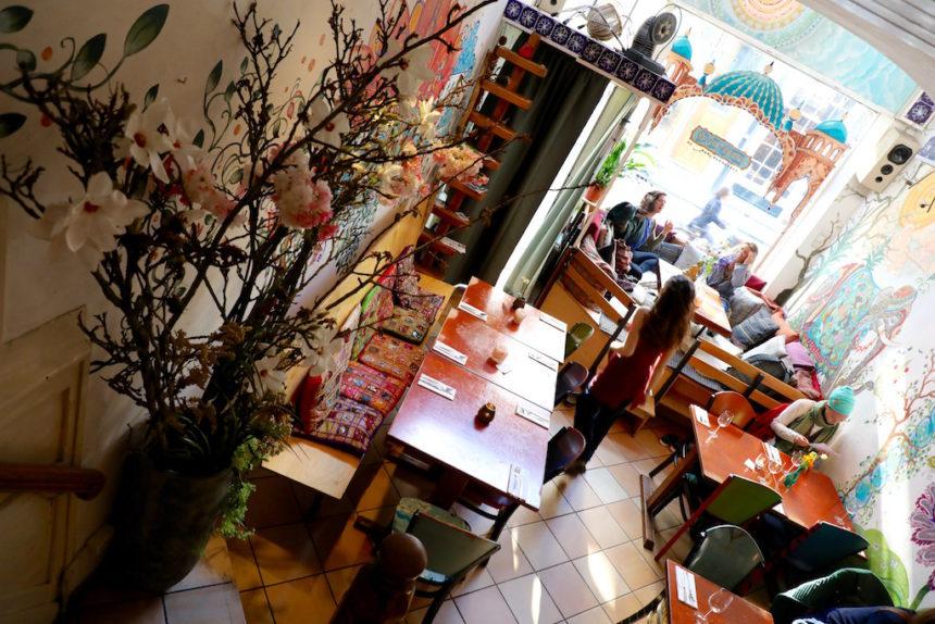 Vegetarisch restaurant Golden Temple Amsterdam