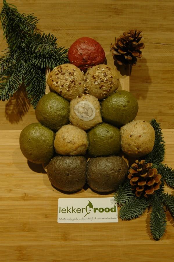 Lekker Brood Kerstboom biologisch bakker den haag relatiegeschenk duurzaam