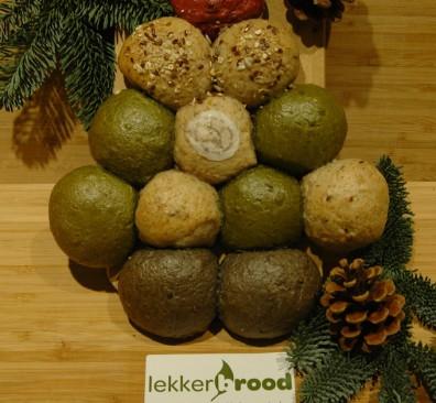 Lekker Brood introduceert smaakvolle biologische Kerstboom