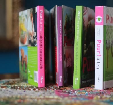 4 x boeken Puur! uit eten