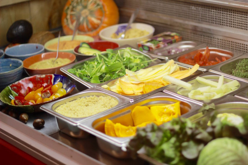 lunchen groningen Anat vegan restaurant biologisch uit eten tip lunch