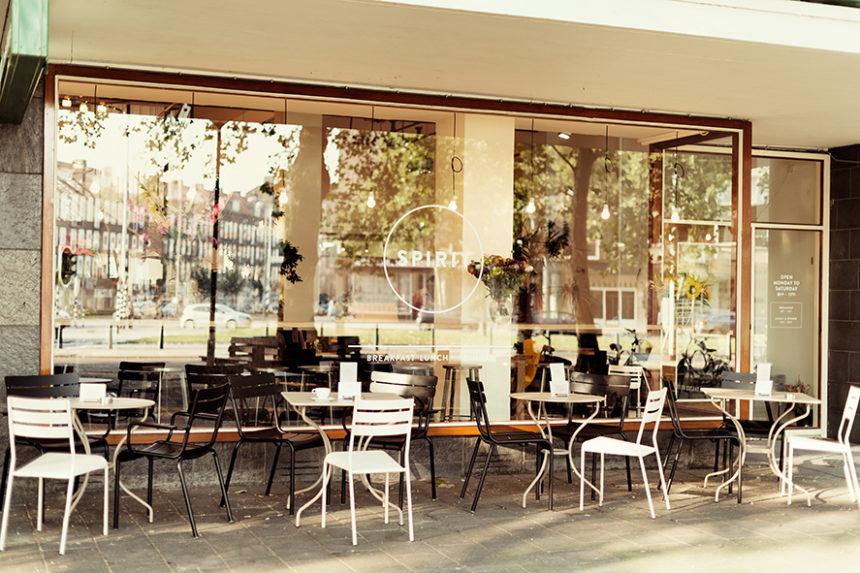 vegetarisch restaurant Spirit Rotterdam biologisch groene passage
