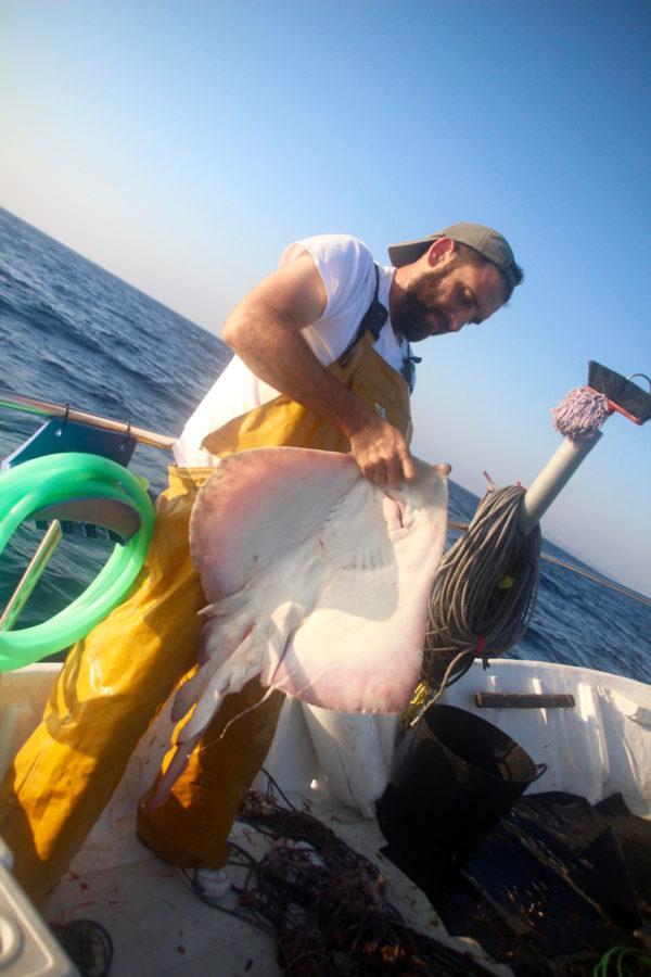 Vissen met chef Richard Can Bernat des Grau menorca