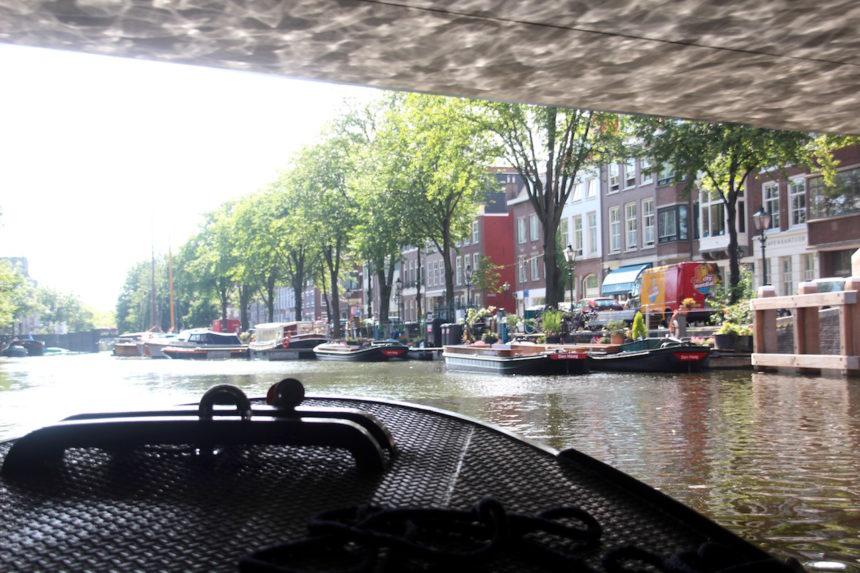 Rondvaart De Ooievaart Den Haag boot water boottocht tip