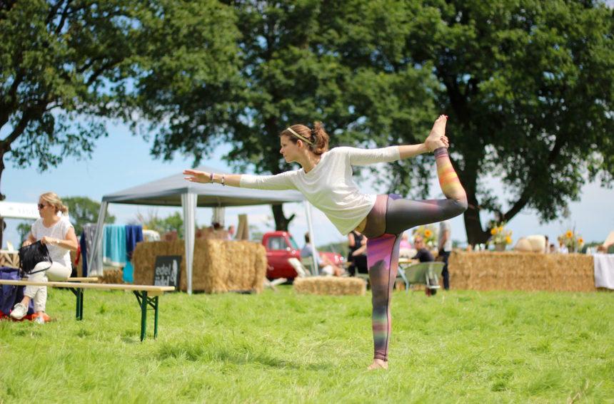Verrukkelijk Vechtdal Puur Picknick yoga Barbara Schriek Be Happy & Healthy yoga