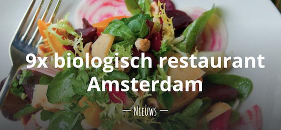 biologisch restaurant amsterdam