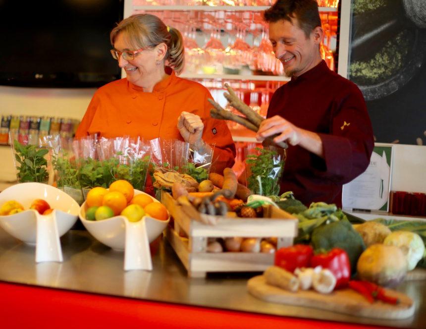 De Groene Kookacademie vegetarische kookworkshops