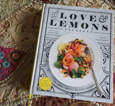 Winactie Love & Lemons kookboek