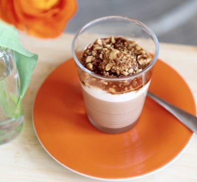 Vegan koffie dessert