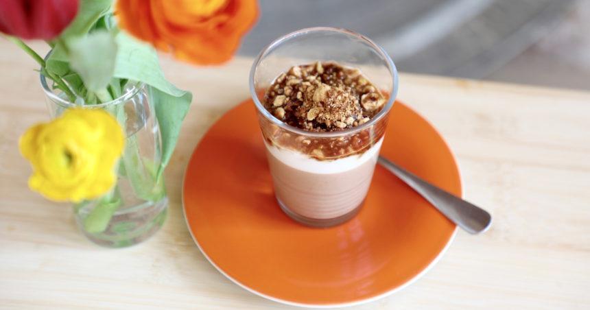 vegan koffie dessert recept
