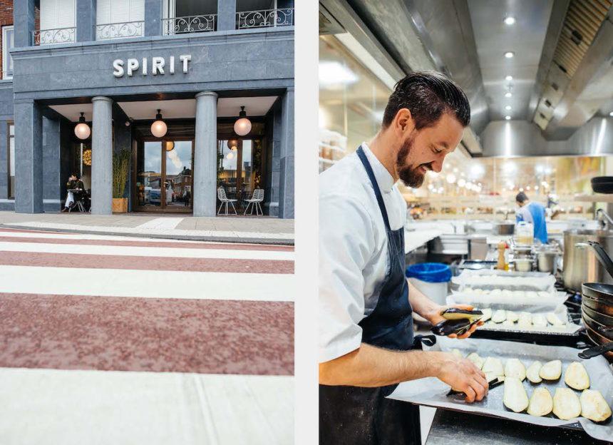 Spirit Amsterdam biologisch vegetarisch restaurant