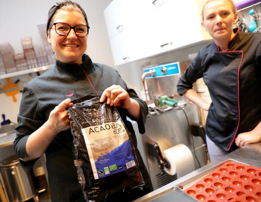 Fairtrade en biologisch bij Carre Noir in Luik