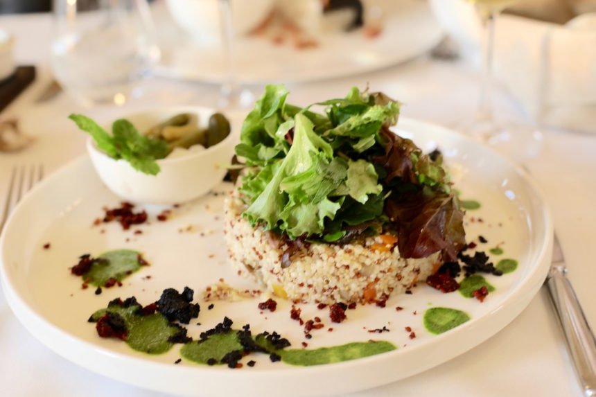 Brasserie Albert Hotel Thermae Palace oostende vegetarisch puuruiteten