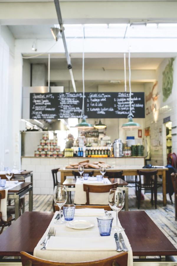 Restaurant Oliva Rotterdam biologisch witte de withstraat