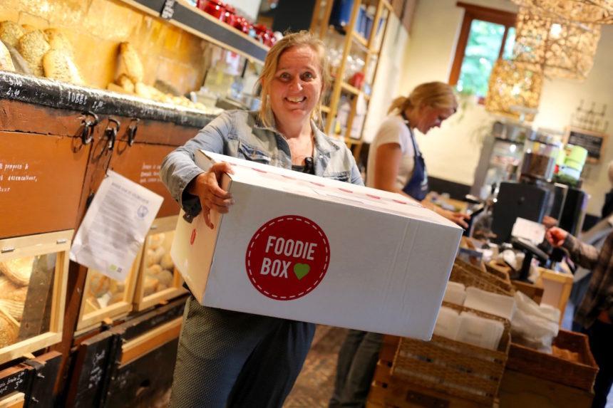 Juliëtte van Puur! hotspot de Veldkeuken bunnik puur foodiebox
