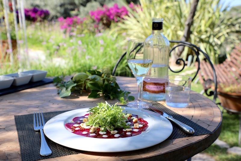 Boetiekhotel en restaurant Cas Xorc soller lunch puuruiteten vegetarisch