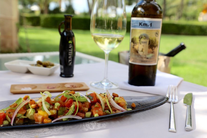Fontsanta Hotel Mallorca restaurant vegetarisch eten lunch vijf sterren hotel