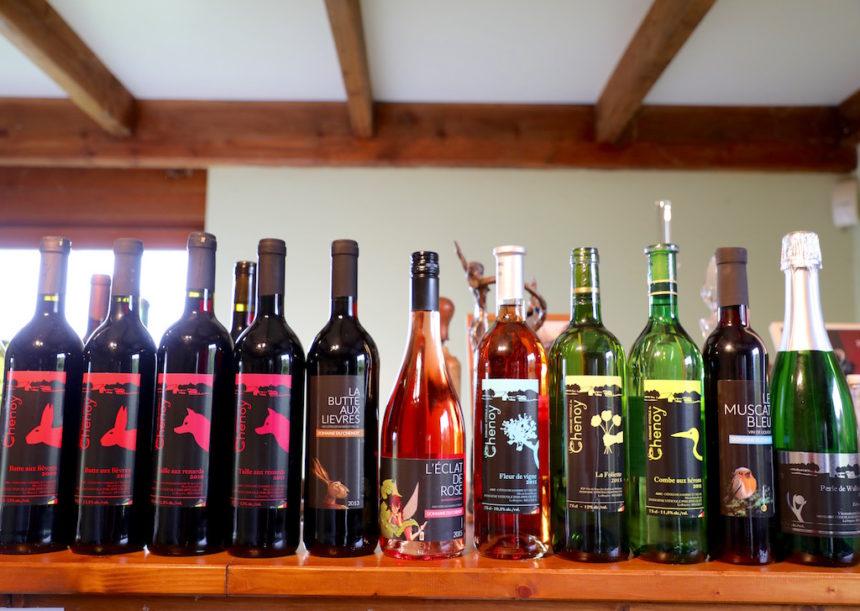 Domaine du Chenoy wijn belgie biologisch