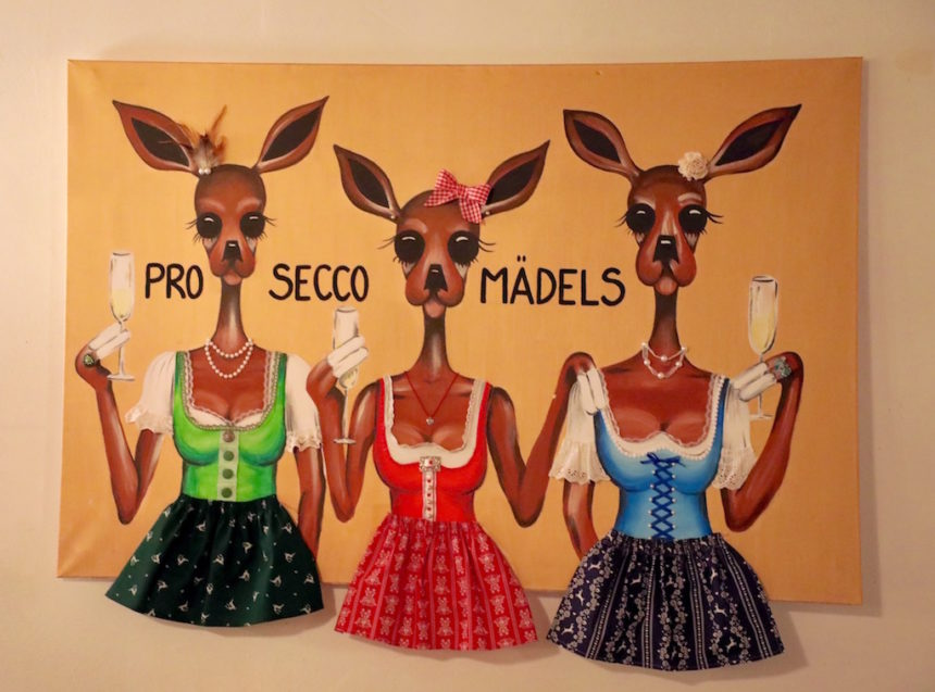 Prosecco madels Alta Badia