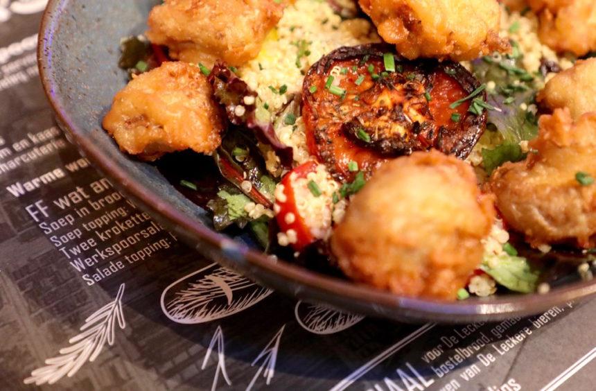 Werkspoor Café De Leckere Utrecht biologisch restaurant puur uit eten vegetarisch
