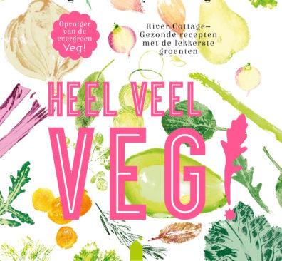 Winactie vegetarisch kookboek Heel veel veg!