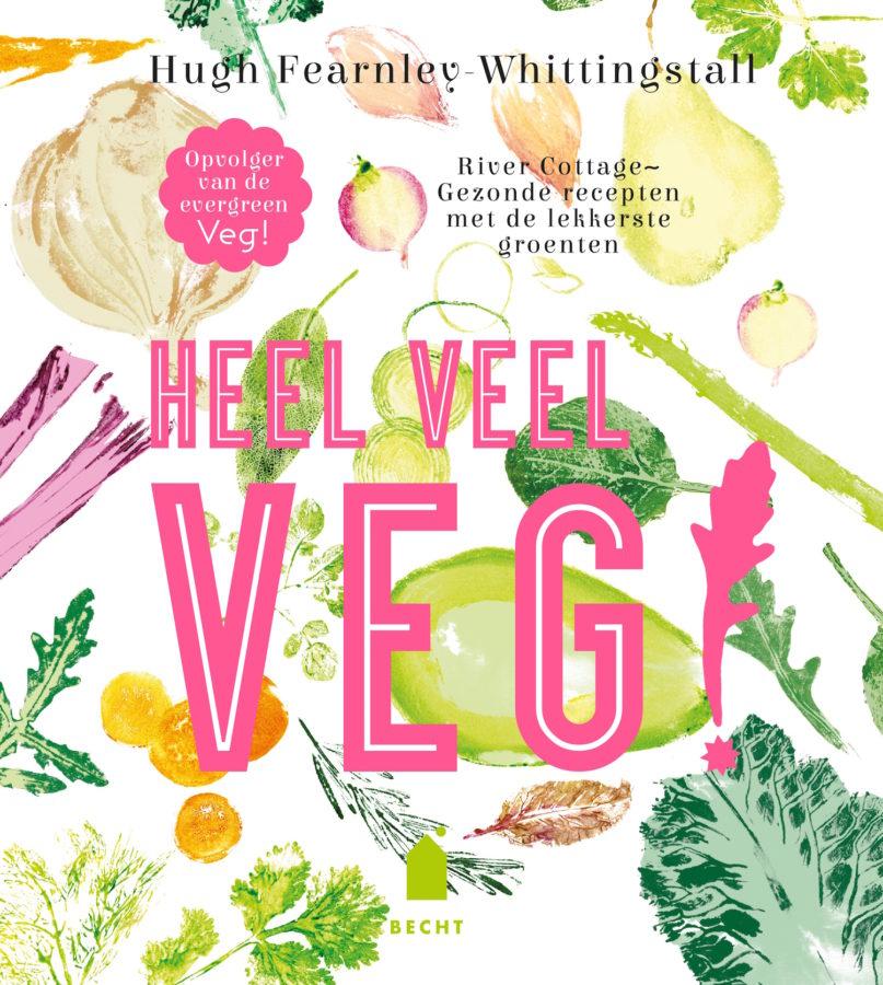 Winactie vegetarisch kookboek Heel veel veg! puuruiteten